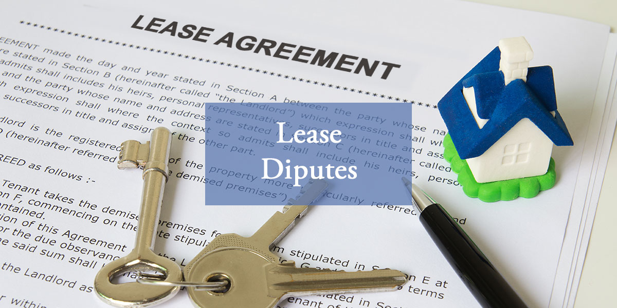 Lease Disputes