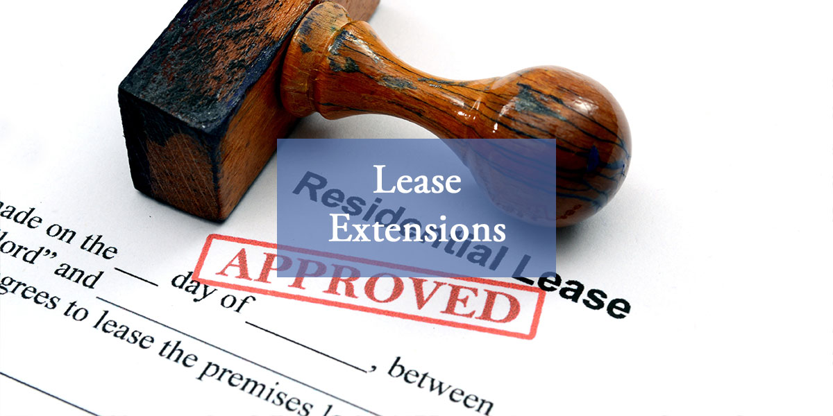 Lease Extensions